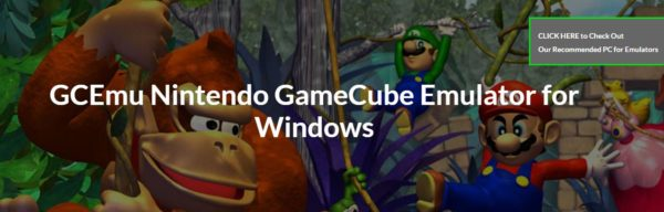 GCEMU Nintendo Gamecube Emulator