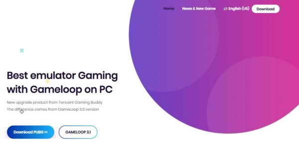 Gameloop Emulator for PC Download Page