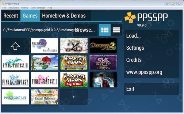 PPSSPP PS3 EMulator download