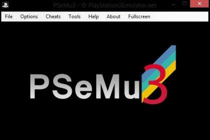 PSeMu3 PS3 emulator for Windows 10 PC